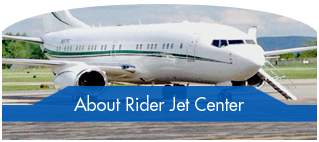 About Rider Jet Center